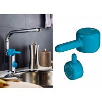 Logic keittiöhanan vipu, sininen, apk-venttiili