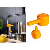 Logic keittiöhanan vipu, oranssi, apk-venttiili