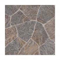 Vinyylimatto Texline Granite Dark Grey, leveys 4m