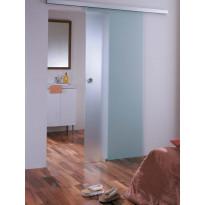 Liukuovi, 8x21, katto-/seinäkiinnitys, mattalasi, eri värivaihtoehtoja