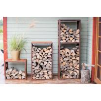 Klapihylly GrillSymbol WoodStock M, 60 x 37 x 106 cm, teräs