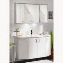 Kylpyhuoneryhmä Next Vision 900 peilikaapilla, valkoinen