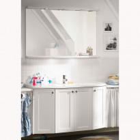 Kylpyhuoneryhmä Next Vision 1200 peilillä, frame, valkoinen