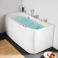 Poreallas Hafa Aqua 160SQ Deluxe, 224L, 1575x750mm, Verkkokaupan poistotuote