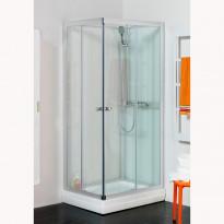 Suihkukaappi Hafa Polaris 90 Square, kirkas lasi, 900x900mm