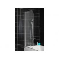 Suihkuseinä kylpyammeeseen Hafa Igloo BV, kirkas lasi, 750x1400mm