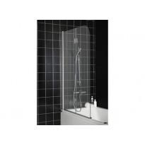 Suihkuseinä kylpyammeeseen Hafa Igloo BV2, kirkas lasi, 1050x1400mm