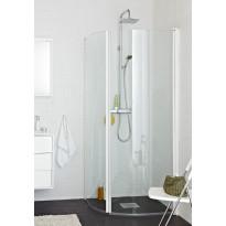 Suihkunurkkaus Original R, 800-820x900-920mm, Valkoinen/kirkas lasi