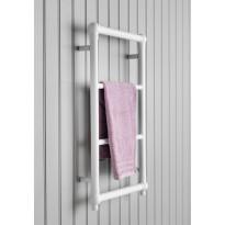 Pyyhekuivain Hampton 475x750, valkoinen, Verkkokaupan poistotuote