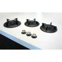 Kaasuliesitaso i-Cooking ICGX0311, 3 keittoaluetta