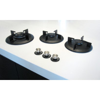 Kaasuliesitaso i-Cooking ICGX0312, 3 keittoaluetta