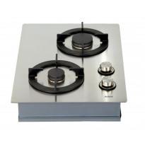 Kaasuliesitaso Koonaka domino KPG0201, 2 keittoaluetta, 4mm ruostumaton teräs