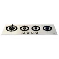 Kaasuliesitaso Koonaka KPG0403, 4 keittoaluetta, 4mm ruostumaton teräs