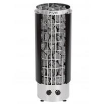 Sähkökiuas Harvia Cilindro PC70H, 6.8kW, 6-10m³, kiinteä ohjaus, musta