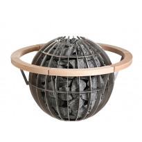 Suojakaide Harvia HGL7, Globe 11kW-kiukaalle, lämpökäsitelty haapa, Verkkokaupan poistotuote