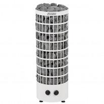 Sähkökiuas Harvia Cilindro PC70V, 6.8kW, 6-10m³, kiinteä ohjaus, valkoinen, Verkkokaupan poistotuote