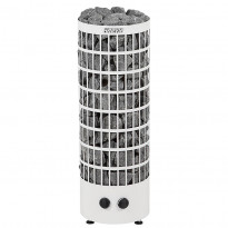 Sähkökiuas Cilindro V PC90V, 9kW (8-14m³), valkoinen
