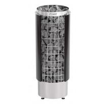 Sähkökiuas Cilindro PC110HE, erillisellä ohjauskeskuksella, 10,8kW, musta (9-18m³)