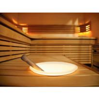 Valaiseva kiulu SAC10101 kahvoilla, LED-valaistu, Tammiston poistotuote