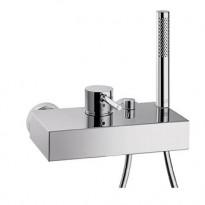 Axor Starck amme- ja suihkuhana käsisuihkuin ja suihkuletkuin, kiinteä vaihdinjuoksuputki (10402000)