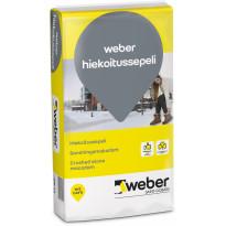 Hiekoitussepeli Weber 3-6 mm murskattu 20 kg