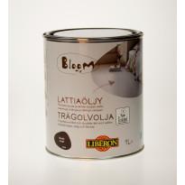 Lattiaöljy Bloom, 1L, musta (066954)