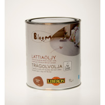 Lattiaöljy Bloom, 1L, ruskea (066958)