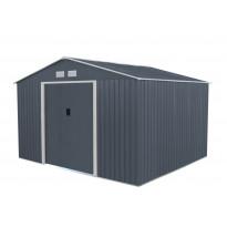 Puutarhavaja Horisont 9,66m², harmaa/valkoinen