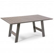 Pöytä Cecilia, 100x165cm, harmaa