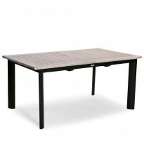 Ruokapöytä Nydala, 90X150/200cm, jatkettava, chic/musta