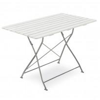 Pöytä Krögaden, 70x120cm, taitettava, valkoinen