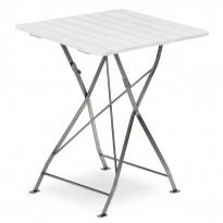Pöytä Krögaren, taitettava, 70x70cm, valkoinen