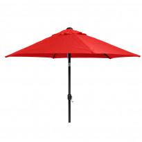 Aurinkovarjo (231020) Ø300cm, punainen