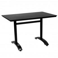 Pöytä Atlanta, 120x70cm, musta