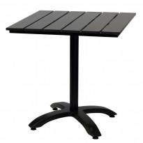 Pöytä Atlanta, 70x70cm, musta