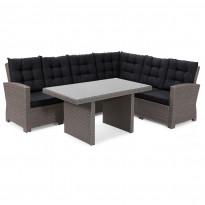 Sohvaryhmä Casablanca (3h-sohva, 2h-moduuli, pöytä)