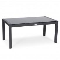 Pöytä Ladero, 60x110cm, tummanharmaa