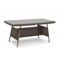Pöytä Hillerstorp Alcudia 80x150cm, ruskea 44980150