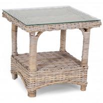 Sivupöytä Kullen, 56x56cm, antiikinharmaa