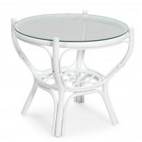 Pöytä Hanö, Ø65cm, valkoinen