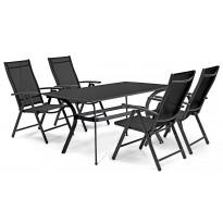 Pöytä Bredared, musta