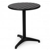 Pöytä Brighton, Ø58cm, musta