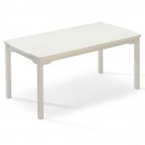 Ruokapöytä Visby, 85x150cm, valkoinen