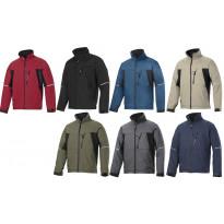 Soft Shell takki, eri värejä