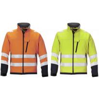 Varoitusvaate, Soft Shell -takki, luokka 3, eri värejä