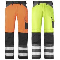 Varoitusvaate, housut, luokka 2, eri värejä