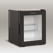 Jääkaappi lasiovella Scandomestic MB32BGD, 39cm, musta