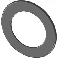 Peitelevy Jeremias, 55mm, musta, Ø115