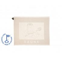 Pefletti SaunaSanna, 45x55cm, pellava/valkoinen
