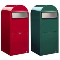 Postilaatikko Jumbo, 80x32x35cm, vihreä, Tammiston poistotuote